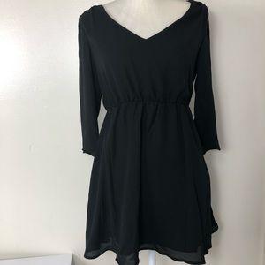 Women's forever 21 chiffon dress size small EUC